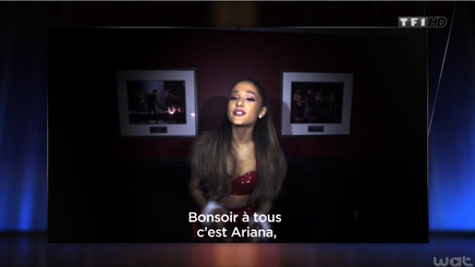 Ariana Grande - Révélation Internationale de L'Année - Palmares NRJ Music Awards 2014