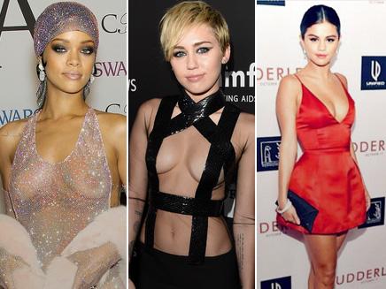 Rihanna, Miley, Selena... : les tenues les plus folles de l'année!