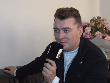 Sam Smith - il est fan d'Ariana Grande!