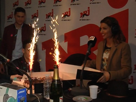 Tal fête son anniversaire sur NRJ