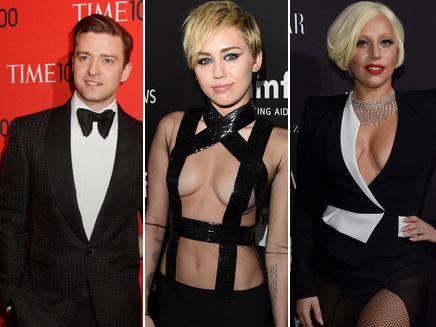 Lady Gaga, Miley Cyrus, Justin Timberlake : unis par une légende