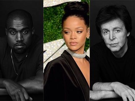Rihanna : un trio avec Kanye West et Paul McCartney?