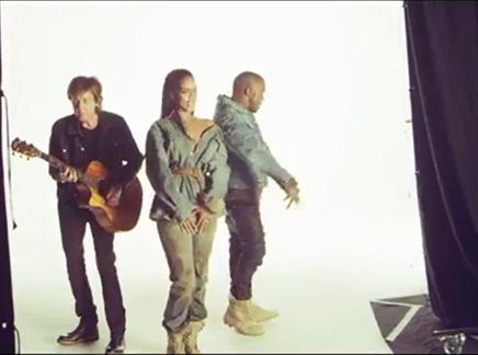 Rihanna : les premières images du clip de «Four Five Seconds»!