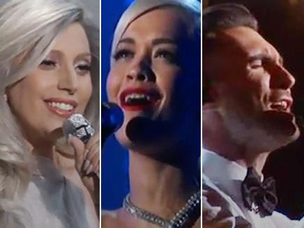Lady Gaga, Rita Ora et Adam Levine : les meilleurs lives des Oscars!