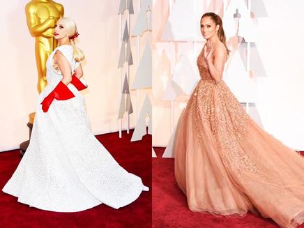 Lady Gaga, Jennifer Lopez, Rita Ora : les plus beaux looks des Oscars!