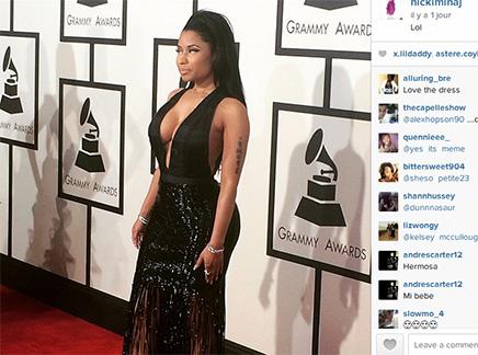 Nicki Minaj : le plus beau look des Grammys ?