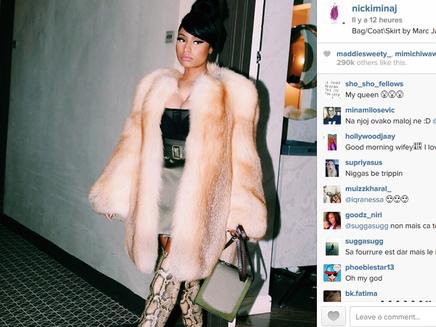 Nicki Minaj : une vraie bête de mode pour Marc Jacobs!