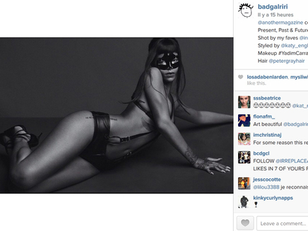 Rihanna toujours plus sexy pour Another Magazine!