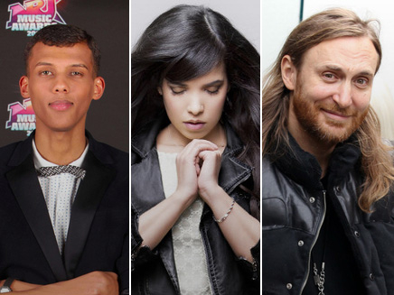 Stromae, Indila et David Guetta s'emparent de l'international!