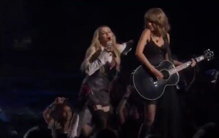 Madonna - Ghosttown Ft. Taylor Swift @ Iheartradio Music Awards 2015