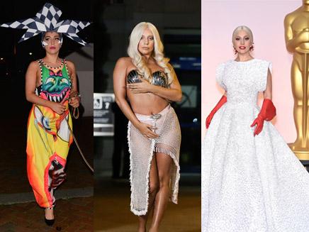 Lady Gaga : les 29 looks qui ont marqué son année!