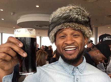 Usher : joue les touristes en Irlande