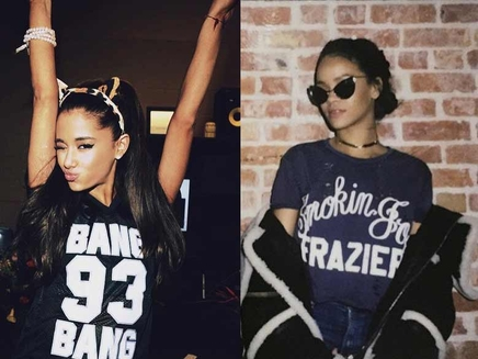 Rihanna s'éclate au concert d'Ariana Grande!