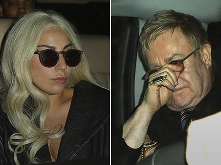 Lady Gaga retrouve Elton John pour un diner!