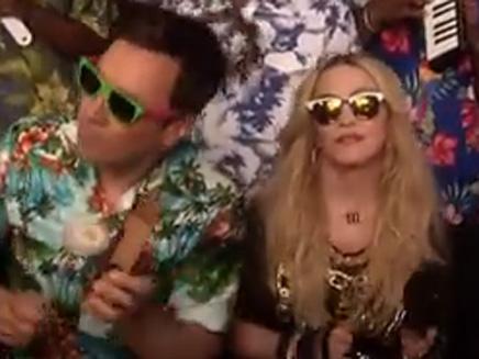 Madonna : déchaînée chez Jimmy Fallon!