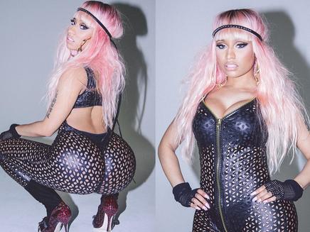 Nicki Minaj : ultra sexy dans une combinaison en cuir!