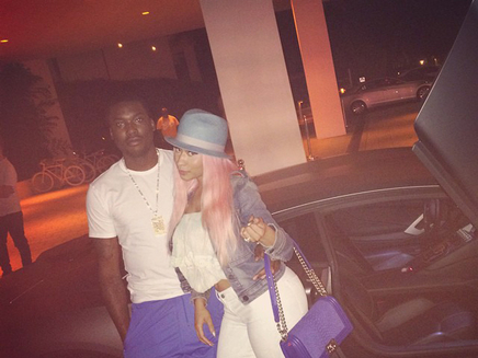 Nicki Minaj n'est pas fiancée à Meek Mill !