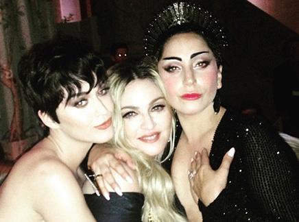 Katy Perry, Lady Gaga, Madonna : bientôt un trio ?
