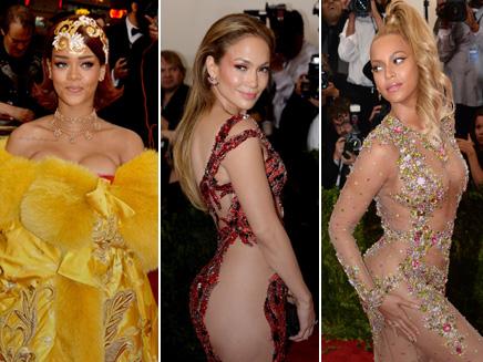 Rihanna, JLO, Beyoncé : défilé de robes sexy au Met Gala 2015!