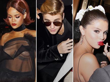 Rihanna, Justin et Selena : l'after party mouvementée du Met Gala!
