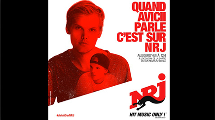 Avicii en interview sur NRJ