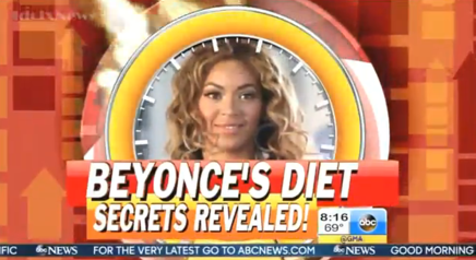 Beyonce's Diet Secrets Revealed - GMA Feature