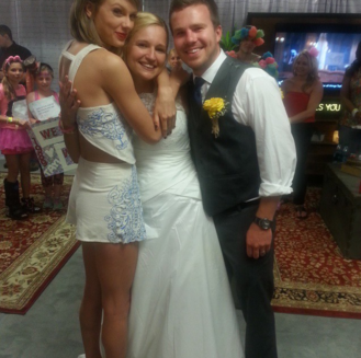 Taylor Swift fans mariage