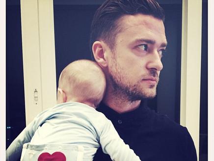 Justin Timberlake dévoile d'adorables photos de son fils! Vous allez craquer!