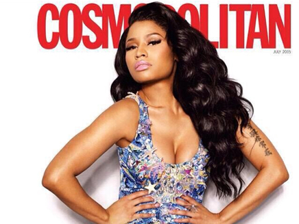 Nicki Minaj : en couverture de Cosmopolitan!