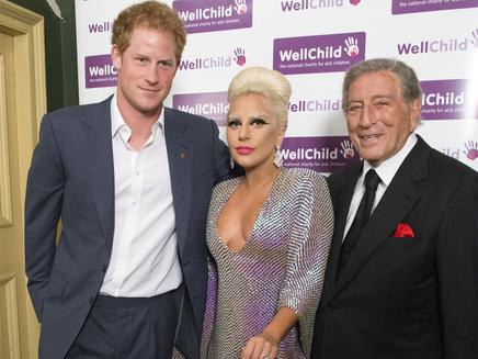 Lady Gaga : sa rencontre avec le prince Harry!