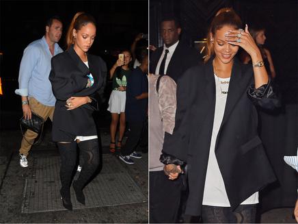 Rihanna : chic et sexy pour une sortie à New York!