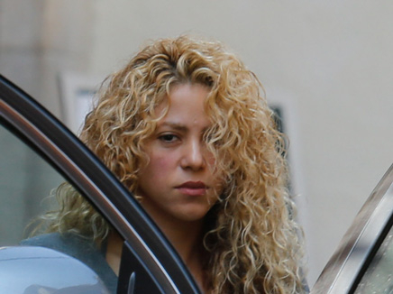 Shakira à Barcelone