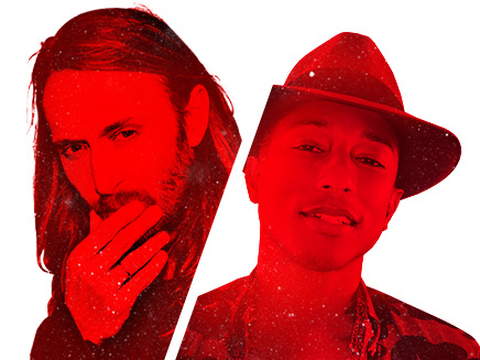 Double Hit Pharrell Williams / David Guetta