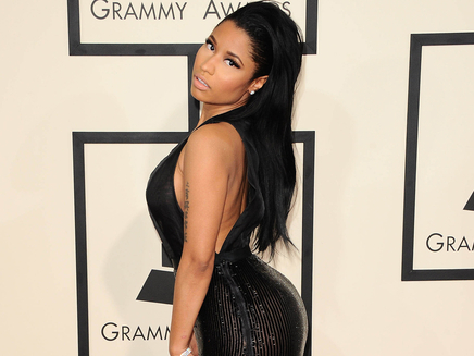 Nicki Minaj en cire : elle s'adore !
