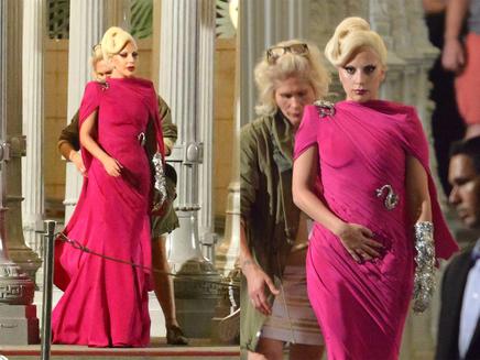 Lady Gaga : les premières images du tournage de sa série TV!