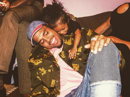 Chris Brown: heureux après avoir obtenu la garde partagée!