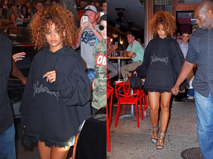 Rihanna : sortie décontractée à New York !