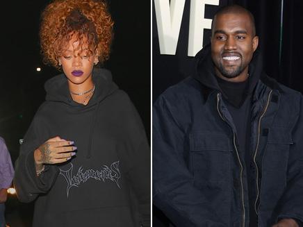 Rihanna : look décontractée pour chanter avec Kanye West !