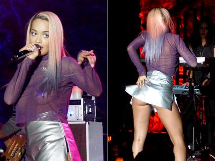 Rita Ora : ultra sexy sur scène à Los Angeles!