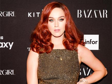 Katy Perry devient rousse pour Harper's Bazar!