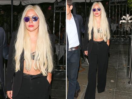 Lady Gaga : en soutien-gorge dans les rues de Los Angeles!