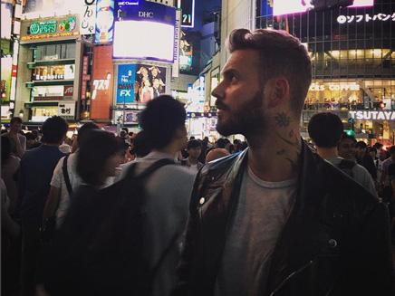 M.Pokora: touriste à Tokyo!