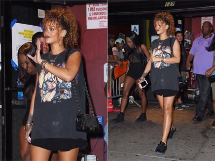 Rihanna : son look rock pour aller voir Travis Scott!
