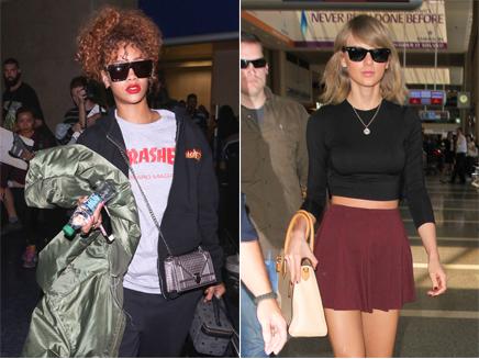Rihanna : «Je ne suis pas un modèle comme Taylor Swift!»