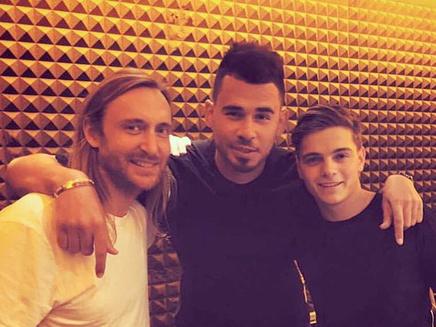 David Guetta: en studio avec Afrojack et Martin Garrix!