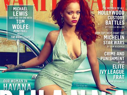 Rihanna: très sexy dans le nouveau Vanity Fair!
