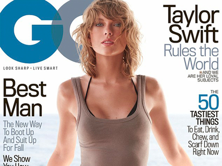 Taylor Swift : son shooting romantique pour GQ!