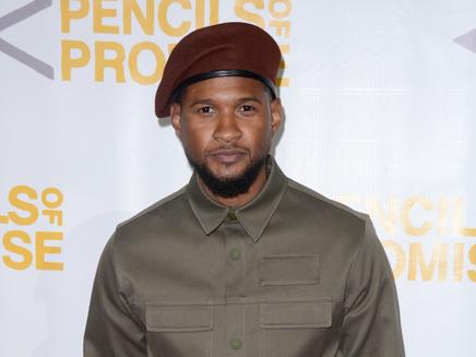 Usher : impressionné par son fils diabétique