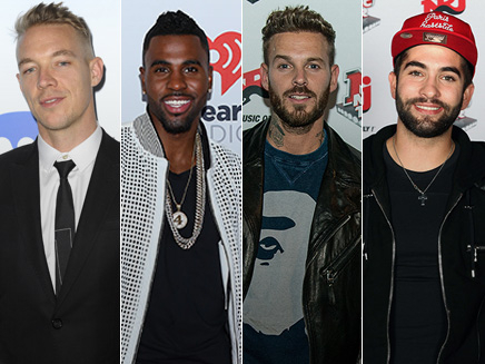 Major Lazer, M.Pokora, Kendji et Jason Derulo aux NRJ Music Awards 2015!