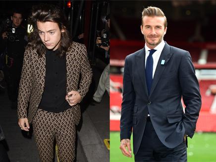 Harry Styles : un match de foot contre David Beckham!